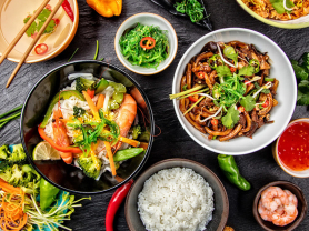 3 Course Asian Feast for 2 Only $48, Think Local Deal, Oceanviews Asian Cuisine