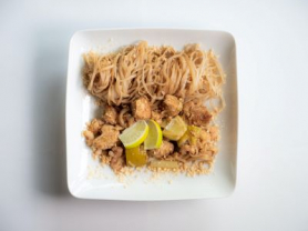 Pad Thai & Spring Roll Dish only $15.80