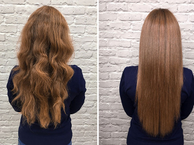 Perfectly Straight Hair Only $180, Think Local Deal, Le Hair Chateau