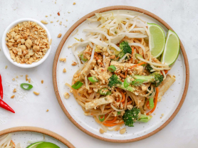 Spring Rolls and Pad Thai Save 30%!, Think Local Deal, Oceanviews Asian Cuisine
