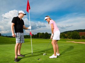 Golf for 2, Cart Hire & Drinks: $59!, Think Local Deal, Castle Cove Golf Club