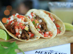 42% Off Tacos and Mexican Snacks for 2, Think Local Deal, Mexciano