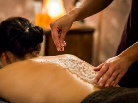 Relaxing Body Scrub & Massage Only $75!, Think Local Deal, Touch of Heaven