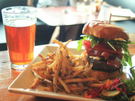 54% Off Burgers, Chips & Beers for 2 $30, Think Local Deal, Village Park Cafe