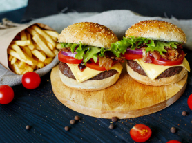 Burger & Chips for 2 Only $14! Think Local Deal, Castle Cove Golf Club