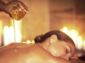 45 Min Hot Oil Massage & Body Brushing, Think Local Deal, Aki's Spa Thai Massage
