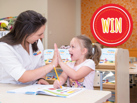 WIN: $500 to Spend at Kids Cove Early Learning