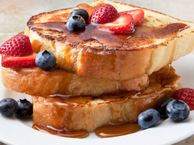French Toast/Waffles & Coffee for 2 $25
