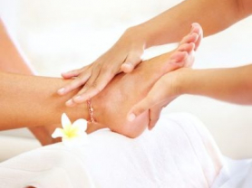 Relaxing Pedicure with Normal polish $20