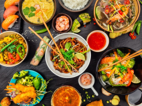 HUGE Vietnamese Feast for Four, 42% Off!, Think Local Deal, Oceanviews Asian Cuisine
