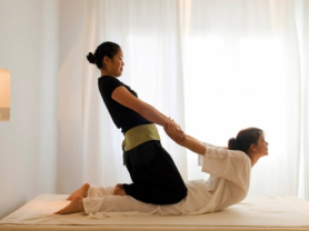 45 Minute Thai Stretch Massage Only $50, Think Local Deal, Aki's Spa Thai Massage