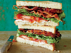2-4-1 BLAT Sandwich Only $15.90!, Garden Terrace Cafe, Think Local Deal
